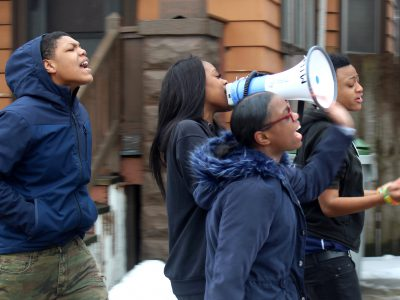 North's Students March for Black Lives Matter