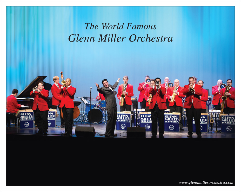 The World Famous Glenn Miller Orchestra® Swings into Milwaukee on Friday, May 24 to the Wilson Theater at Vogel Hall!