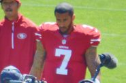 Colin Kaepernick. Photo by Daniel Hartwig [CC BY 2.0 (https://creativecommons.org/licenses/by/2.0)]
