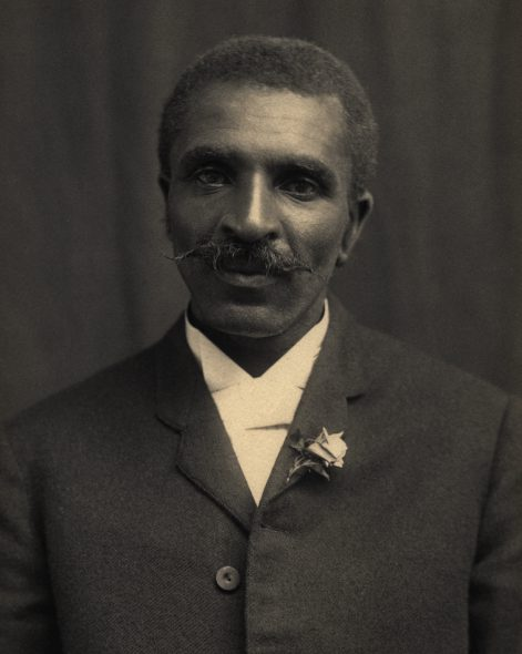 George Washington Carver. Photo is in the Public Domain.