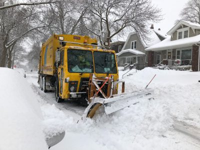 City Hall: Retired Drivers Shall Help Plow Our Snow