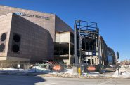 Bradley Center demolition. Photo by Jeramey Jannene.