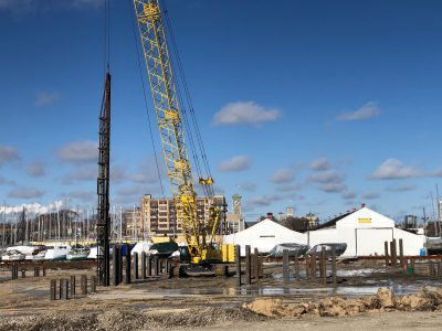Friday Photos: Michels Corp. Begins Work on River One