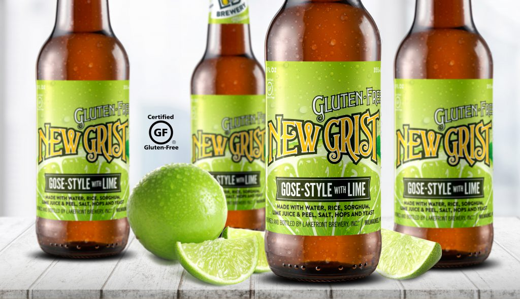 New Grist™ Gose-style. Photo courtesy of Lakefront Brewery.
