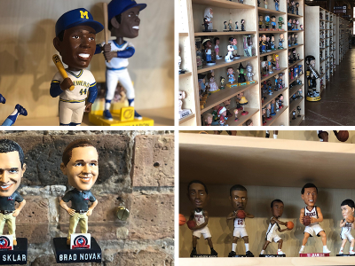 Eyes on Milwaukee: Inside the Bobblehead Museum