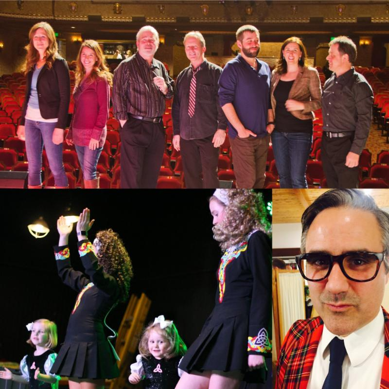 Irish Eve at the CCC with the Trinity Irish Dancers, Leahy's Luck and Drew Hayes