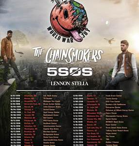 The Chainsmokers to Perform at Fiserv Forum on Nov. 12