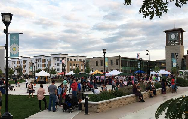 GRAEF receives Merit Award for design of Oak Creek's Drexel Town Square