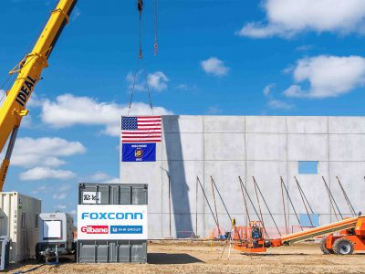Plats and Parcels: Plans Released for Foxconn's LCD Factory