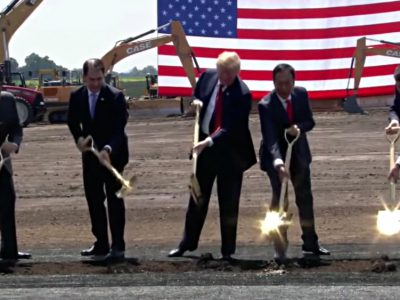 Foxconn Delaying Mount Pleasant Plant?
