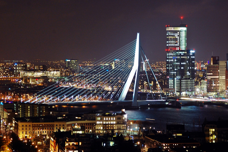 Rotterdam. Photo is in the Public Domain.