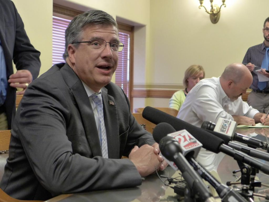 "Rep. John Nygren, R-Marinette, says ""nothing's fundamentally changed"" with the state's Affordable Care Act lawsuit. Democratic Attorney General Josh Kaul wants the Legislature's permission to leave the case. Photo by Shawn Johnson/WPR."