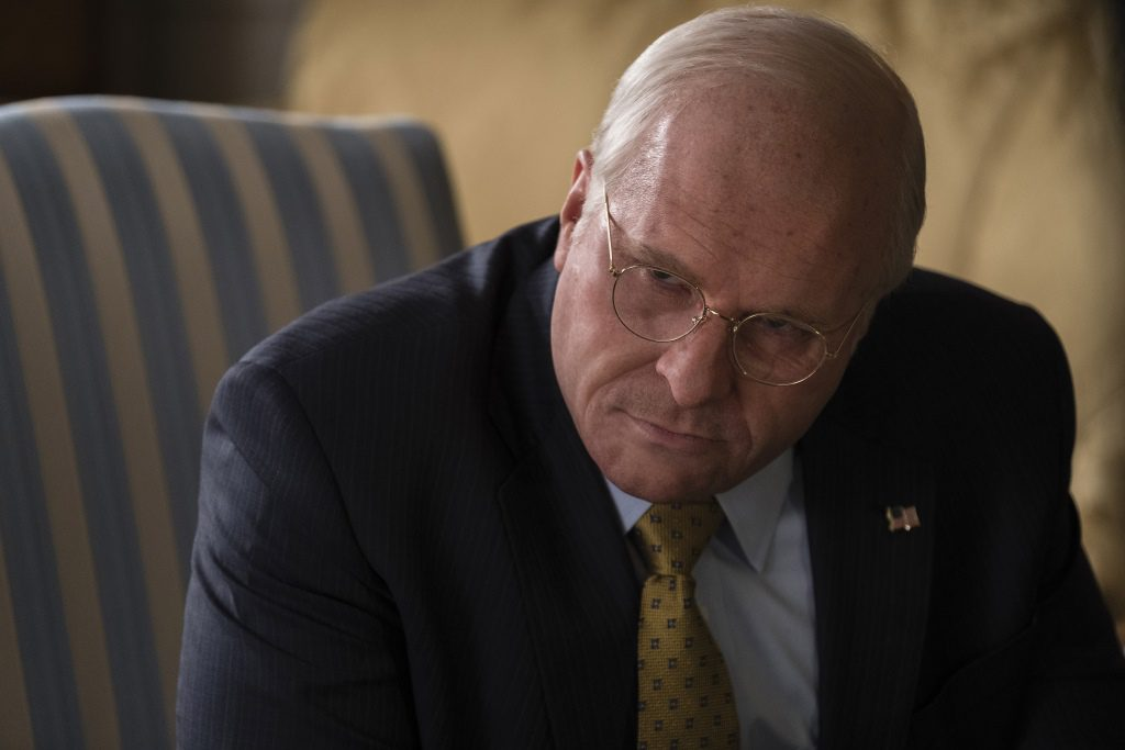 Christian Bale as Dick Cheney in Adam McKay's VICE, an Annapurna Pictures release. Photo by Matt Kennedy / Annapurna Pictures 2018 © Annapurna Pictures, LLC. All Rights Reserved.