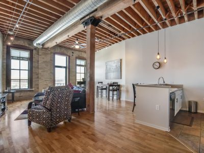 MKE Listing: Live Along the River in Downtown Condo