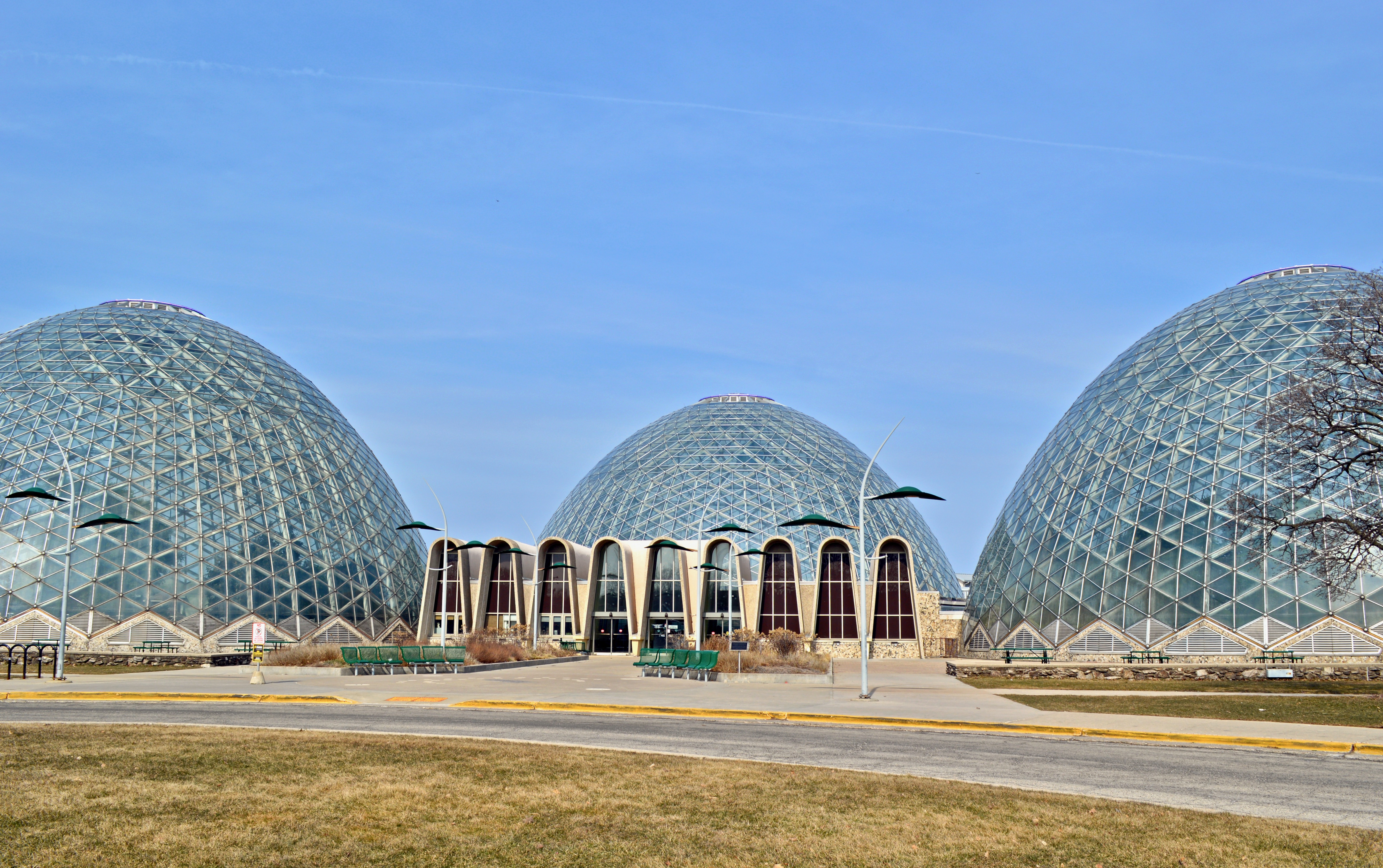 The Mitchell Park Domes have long been an iconic structure in Milwaukee, but high repair costs could lead to their demolition. Photo by Ana Martinez-Ortiz/NNS.