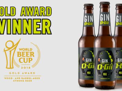 Milwaukee Brewing Company announces 2019 release of award winning Gin O-Gii!