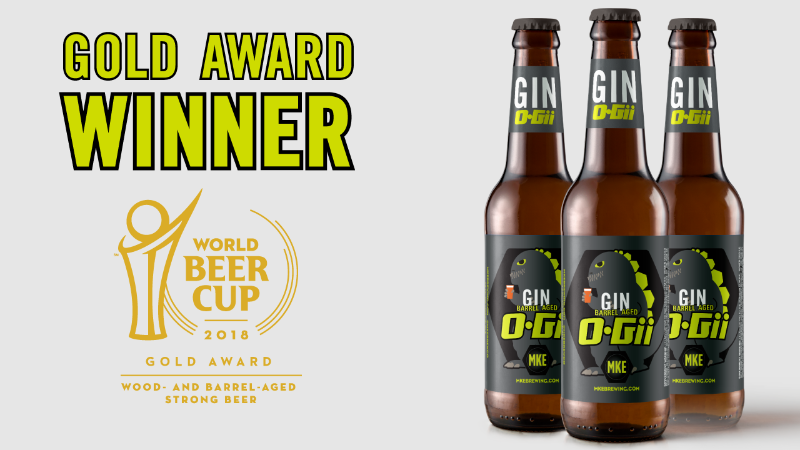 Milwaukee Brewing Company announces 2019 release of award winning Gin O-Gii!