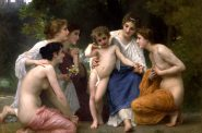Admiration by William-Adolphe Bouguereau.