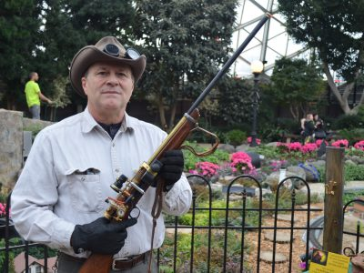 Photo Gallery: Steampunk at the Domes