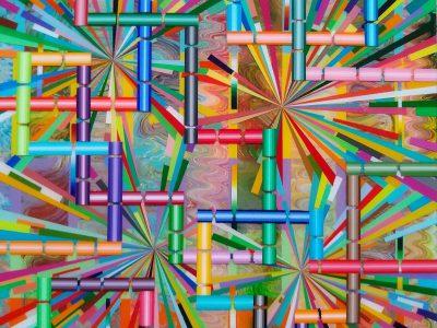 Visual Art: Crazy Cartoonish Colors