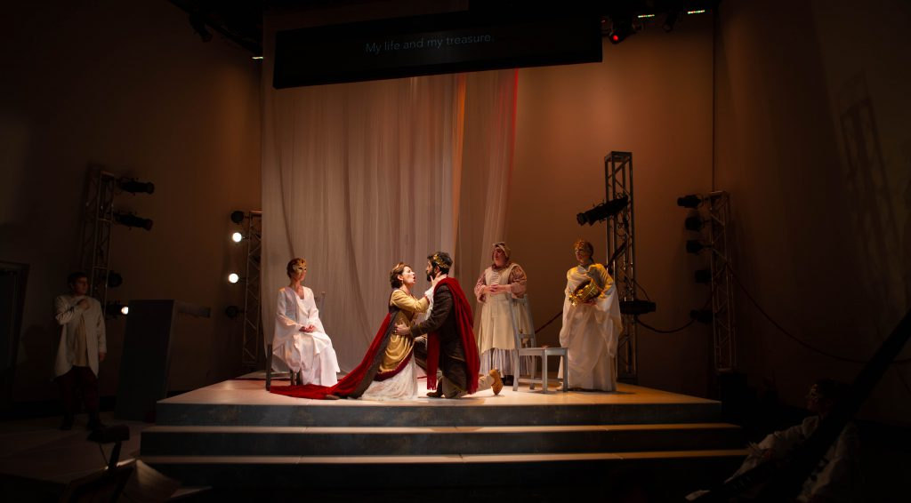 Florentine Opera Company's The Coronation of Poppea. Photo by Kathy Wittman, Ball Square Films.