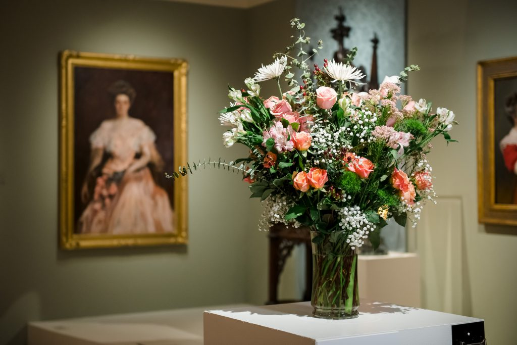 Art in Bloom. Photo from the Milwaukee Art Museum.