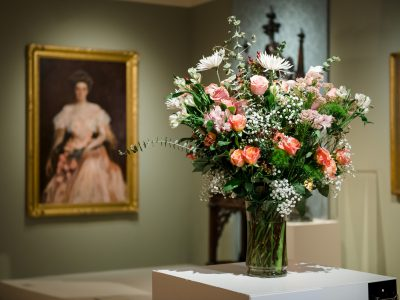 Art and Flowers Combine at Milwaukee Art Museum's Art in Bloom