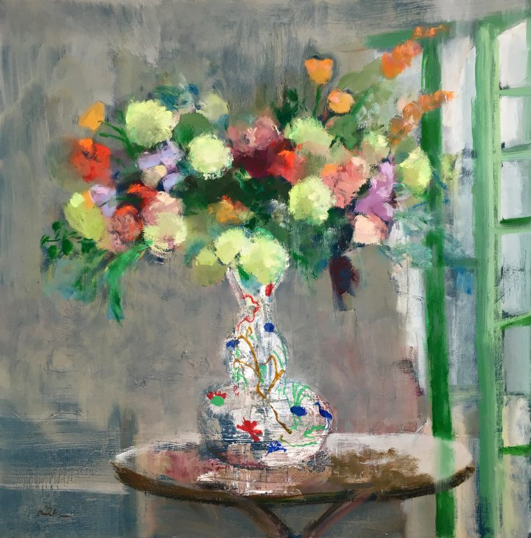 Green Door Bouquet by Melanie Parke. Photo courtesy of the Tory Folliard Gallery.