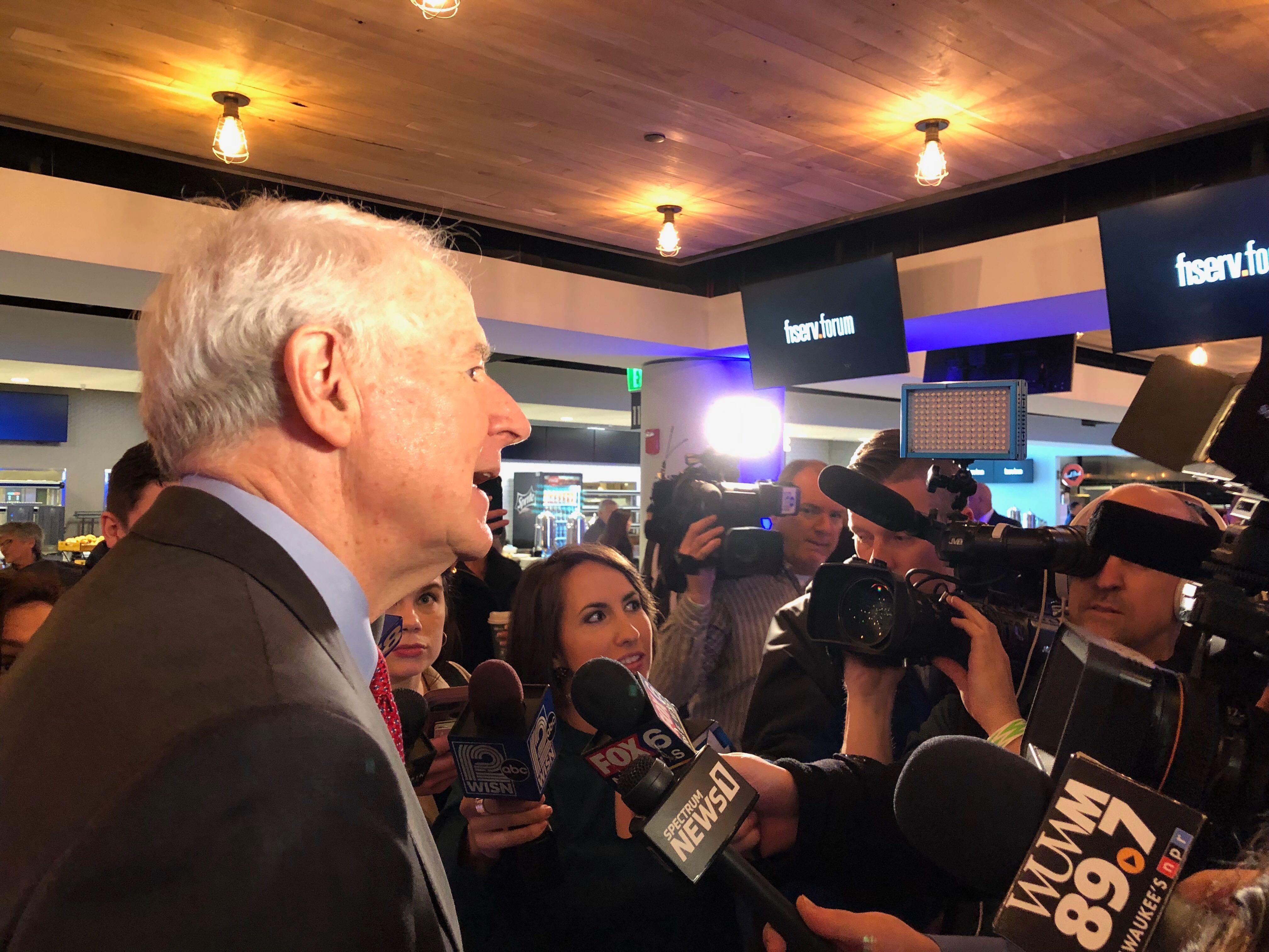 Mayor Tom Barrett. Photo by Jeramey Jannene.