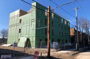 Construction of Cambridge North of 2075 N. Cambridge Ave. Photo by Jeramey Jannene.