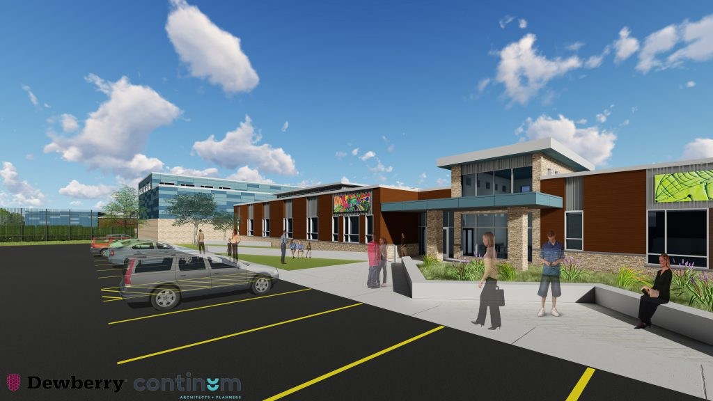 Milwaukee County SRCCCY Rendering.