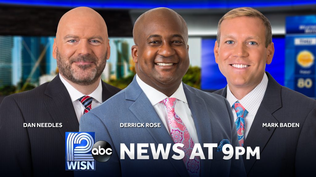 WISN 12 News at 9 on Justice Anchors. Image from WISN