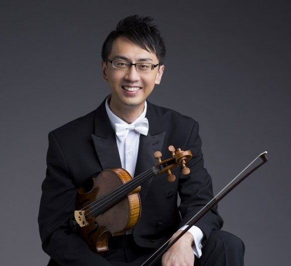 Violist Wei-Ting Kuo