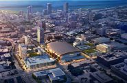 Rendering of the Deer District. Rendering by Eppstein Uhen Architects.