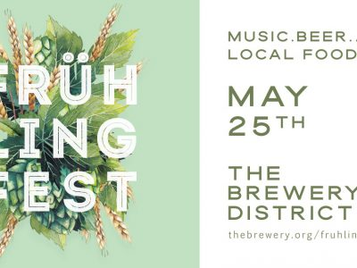 The Brewery District to host first annual Frühling Fest