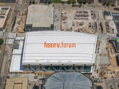 Eyes on Milwaukee: Bucks Installing Rooftop Logo