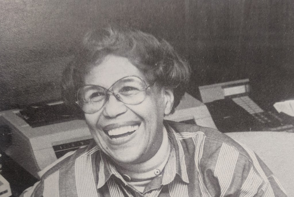 """Tireless volunteer Gwen T. Jackson believed that """"paid staff get a paycheck and volunteer staff get a payback."""" Photo provided by American Red Cross of Wisconsin/NNS."""