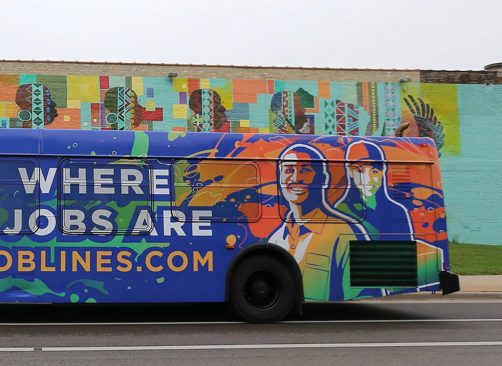 A Joblines bus. Photo from MCTS.