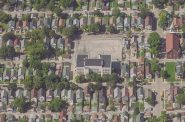 Hayes School. Image from Bing Maps.