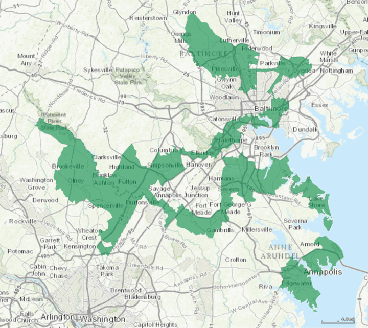 Maryland's 3rd congressional district.