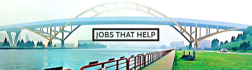 Jobs That Help logo.
