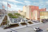 Marcus Center for the Performing Arts redevelopment rendering. Rendering by HGA.
