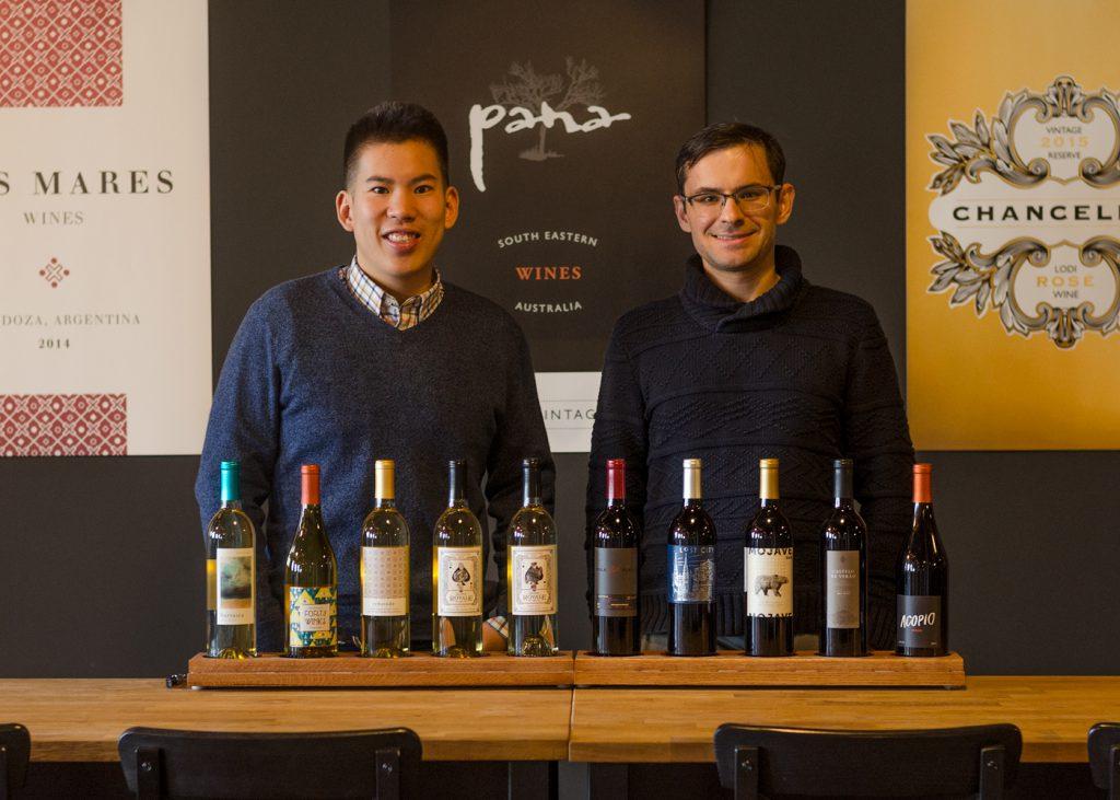 Richard Yau and Joe Laurendi, Bright Cellars founders. Photo from Bright Cellars.