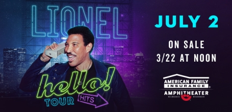 Lionel Richie To Headline Summerfest July 2nd with Special Guest Michael McDonald