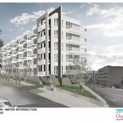1659 Apartments proposal. Rendering by Striegel-Agacki Studio.