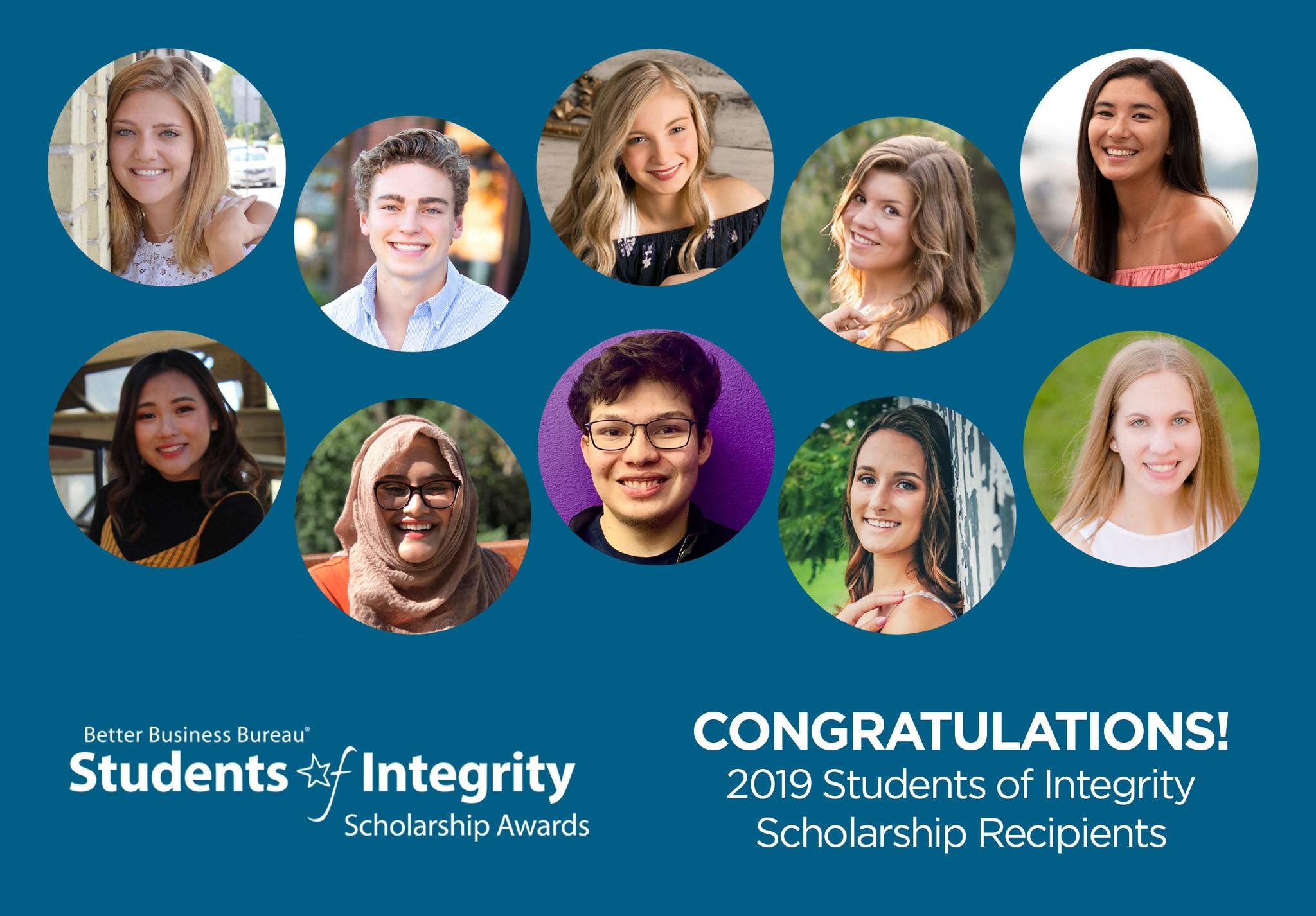 BBB Serving Wisconsin Awards $25,000 in Scholarships to Wisconsin High School Seniors