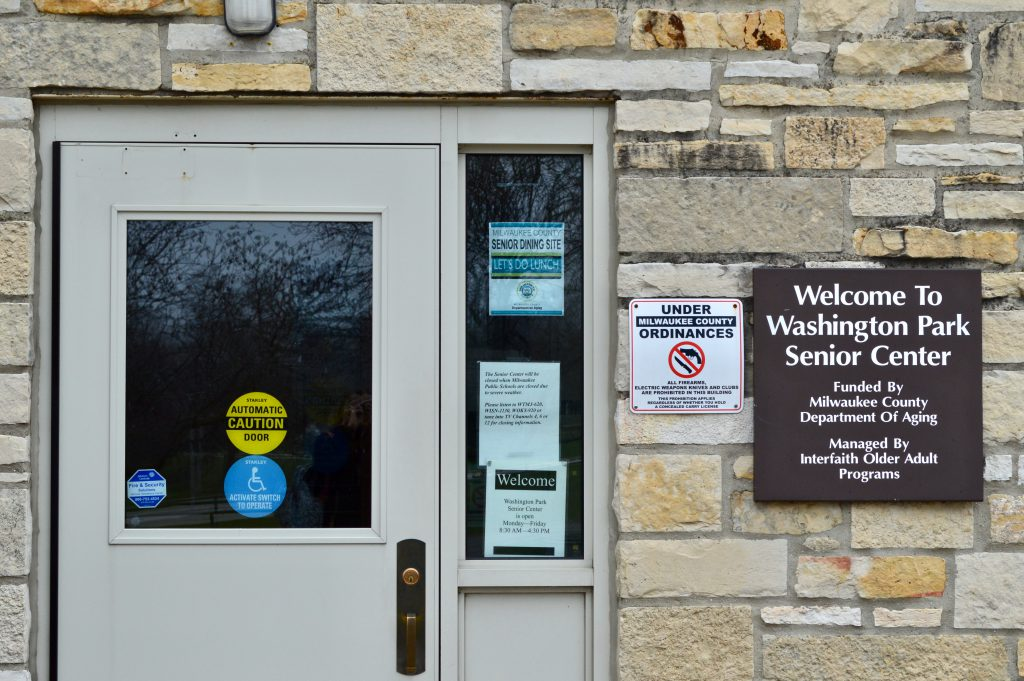 Washington Park Senior Center is one of five county-run centers that will need major repairs or replacement by 2022. Photo by Analise Pruni/NNS.