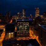 "Eyes on Milwaukee: ""Fear the Deer"" Office Tower Cheers Team"