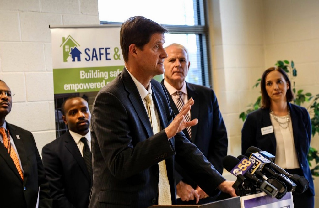Milwaukee County District Attorney John Chisholm, shown in 2016, says his agency will release findings to the public once its investigation of the Milwaukee Health Department concludes. Photo by Allison Steines/NNS.