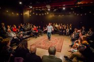 Milwaukee Repertory Theater's Every Brilliant Thing. Photo by Ashley Smith, Wide Eyed Studios.
